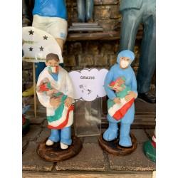 Statuine infermieri covid